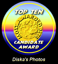 Top Ten Candidate Award / Diska's Photos