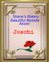 Shane's Bakery Beautiful Website Award