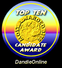 Top Ten Candidate Award / Dandie Online