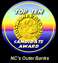 Top Ten Candidate Award / NC's Outer Banks
