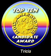 Top Ten Candidate Award / Tricia